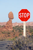 Stop! Famous Place — Stock Photo