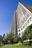 Lakefront Chicago Apartment Building — ストック写真