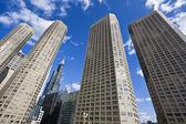 Budynki mieszkalne w chicago — Zdjęcie stockowe