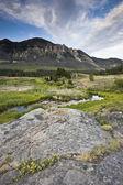 Landscape of Wyoming — Stock Photo