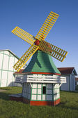 Little windmill in Elk Horn — Stock Photo