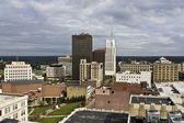 Akron, Ohio - downtown buildings — Stock Photo