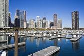 Chicago da marina — Foto Stock