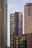 Apartament Buildings in Chicago — Stock fotografie