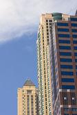 Office buildings in Chicago — Foto de Stock