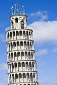 Réplica de torre inclinada — Foto de Stock