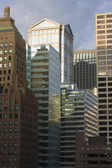 Downtown Chicago buildings — Stock Photo