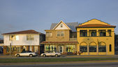 Houses in St. Augustine — Stock Photo