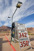 Remote Gas Station in Utah — Stock Photo