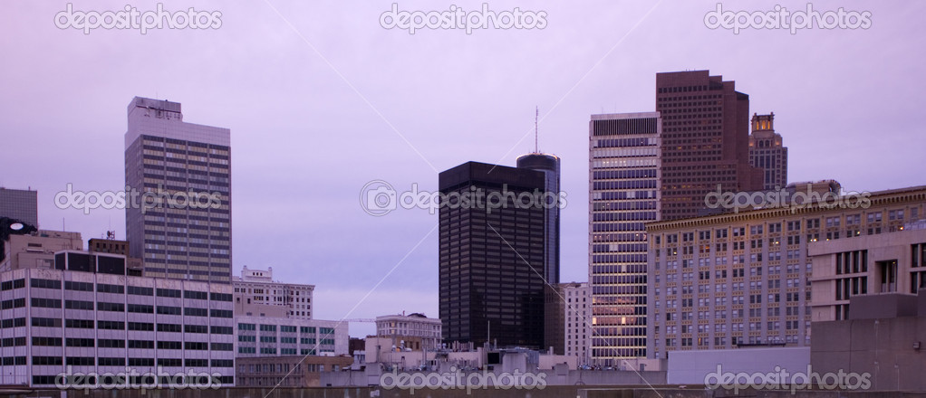 Atlanta, Georgia - panorama of downtown. — Stock Photo #3596837