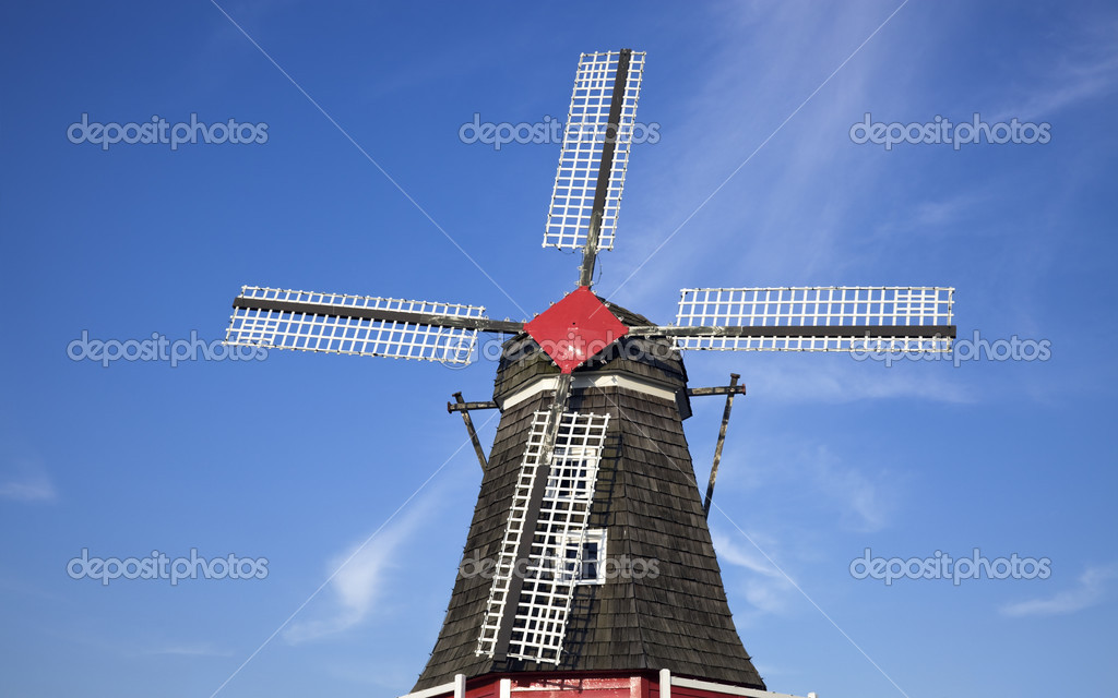 Windmill in Holland, Michigan, USA. — Stock Photo #3671298