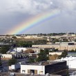 Rainbow in Albuquerque — Stock Photo