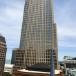 Tallest in Cleveland - vertical panorama - Stock Photo