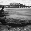 Ohio River in Louisville - Stock Photo