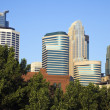 Colorful downtown of Minneapolis — Stock Photo