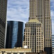 Downtown Chicago Buildings - Stock Photo