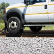 Railway Pick Up Truck — Stock Photo #3829281
