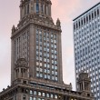 Historic building in downtown Chicago - Stock Photo