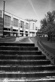 Fountain stairs in Lexington — Stock Photo