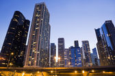 Downtown Chicago seen from the Lake side — Stock Photo