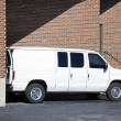 Loading Van — Stock Photo