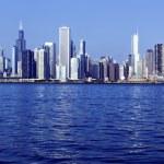 panoramautsikten från sjön — Stockfoto #3867073
