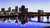 Evening in Little Rock — Stock Photo