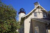 McGulpin's Point lighthouse — Stock Photo