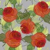Retro floral background — Stok Vektör
