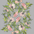 Background. Wild roses. — Stok Vektör #3759136