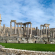 Theatre in Dougga — Stock Photo