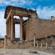 Temple in Dougga — Stock Photo