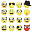 Royalty-Free Stock Vector Image: Smileys