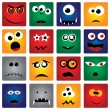 Royalty-Free Stock Vector: Monsters