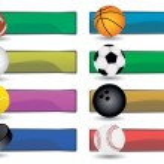 Sport Banners — Stock Vector