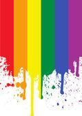 Rainbow Flag — Stock Vector