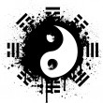 Yin yang — Stockvector