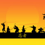 Ninjas — Stock Vector #3730371