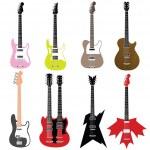 Guitars — Stock Vector