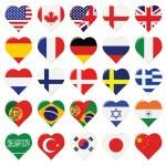 Vector Flags — Stock Vector