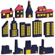 Buildings — Stock Vector #3759116