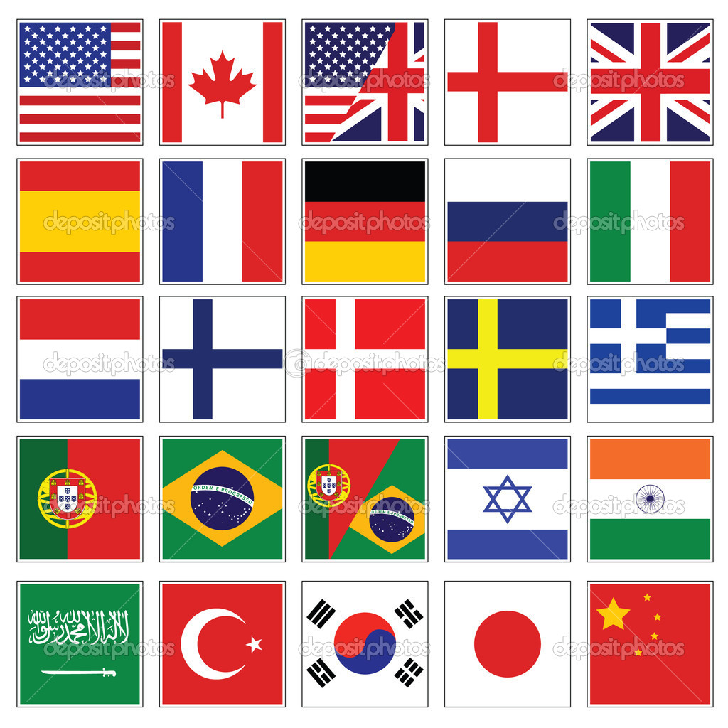 World flags for chat name