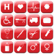 Medical Icons — Stock Vector #3768370