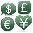 Stock Vector: Currency Signs