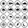 Weather Icons — Stock Vector #3786221
