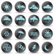 Weather Icons — Stock Vector #3786288