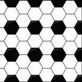 Soccer Ball Pattern — Stock Vector