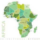 Africa — ストックベクタ