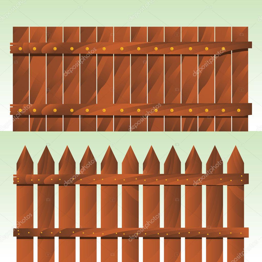 Baixar Cerca de madeira — Ilustração de Stock #3780133 #C58D06 1024x1024