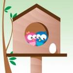 愛の鳥 — ストックベクタ